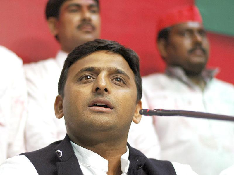 Akhilesh Yadav took on the role of the party's chief campaigner and gave it a new dynamism talking of development and eschewing personal attacks against rivals. (Agencies photo)