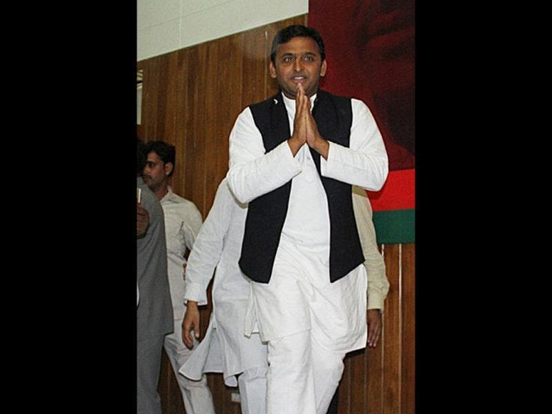 As chief minister, Akhilesh's skill would be under test in fulfilling promises made in the party manifesto which is not going to be an easy task. (Agency photo)