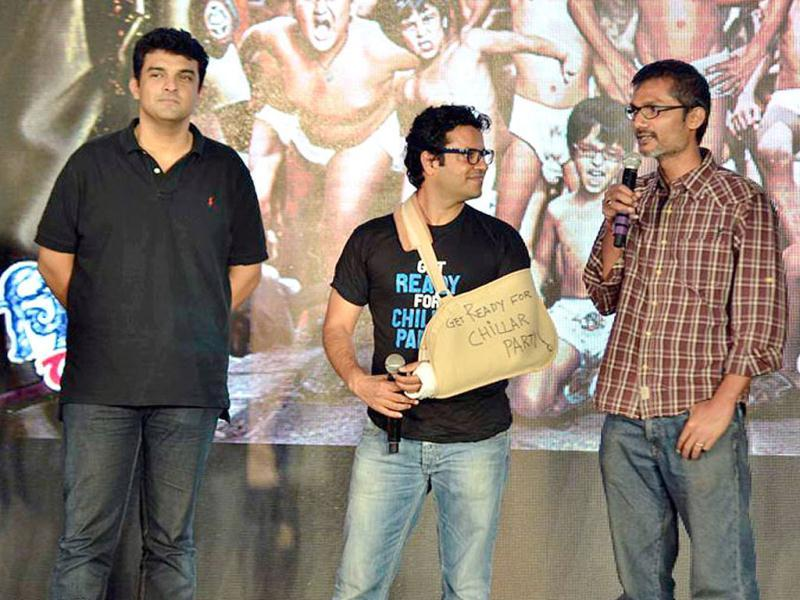 Nitesh Tiwari and Vikas Bahl did not plan to direct Chillar Party that has won three national awards, when they were penning the script.