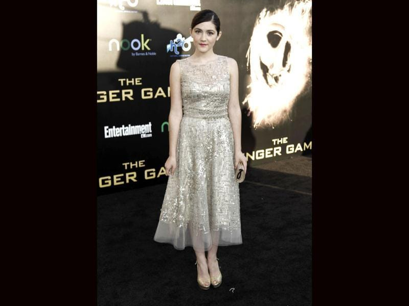 Cast member Isabelle Fuhrman at the premiere.