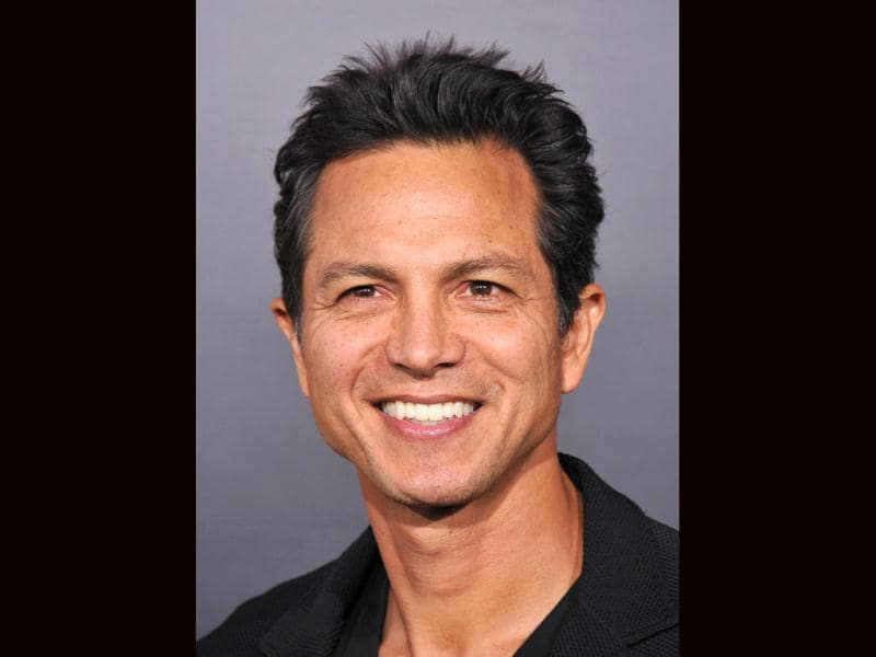 Actor Benjamin Bratt was also present at the premiere.