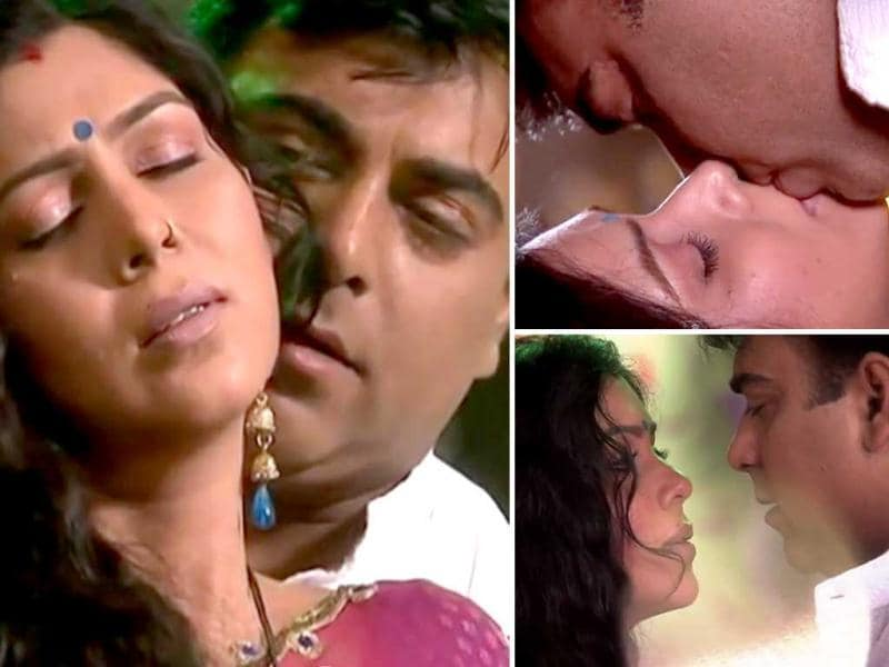 In Bade Acche Lagte Hain, Ram Kapoor and Sakshi Tanvar indulged in a liplock which was part of a good 17 minutes long love-making scene.