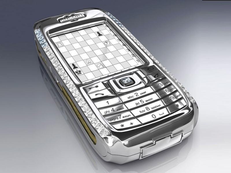 Diamond Crypto Smartphone: Designed by diamond encrusted Peter Aloisson and manufactured by a Russian firm, this smartphone is equipped with world class technological security. Added to which are 50 diamonds and a hefty price of $1.3 million.