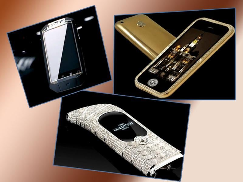 Ferrari and Mercedes are passé. As luxury joins hands with technological brilliance, the rich have turned their gaze to the luxury mobile market. Here's a look at designer phones with the highest price tags.
