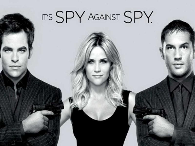 Hollywood film This Means War is as an action romantic comedy, as it has all the three ingredients rolled into one. It stars Reese Witherspoon, Chris Pine, Tom Hardy, Til Schweiger.