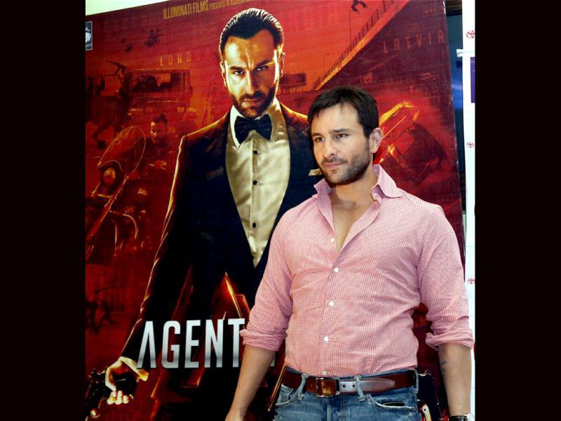 Saif Ali Khan on producing Agent Vinod: