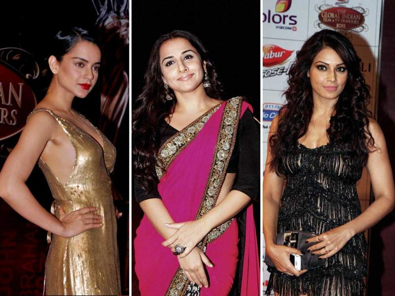 Bollywood celebrities were in full attendance at the Global Indian Film and Television Honours 2012 in Mumbai on March 15.