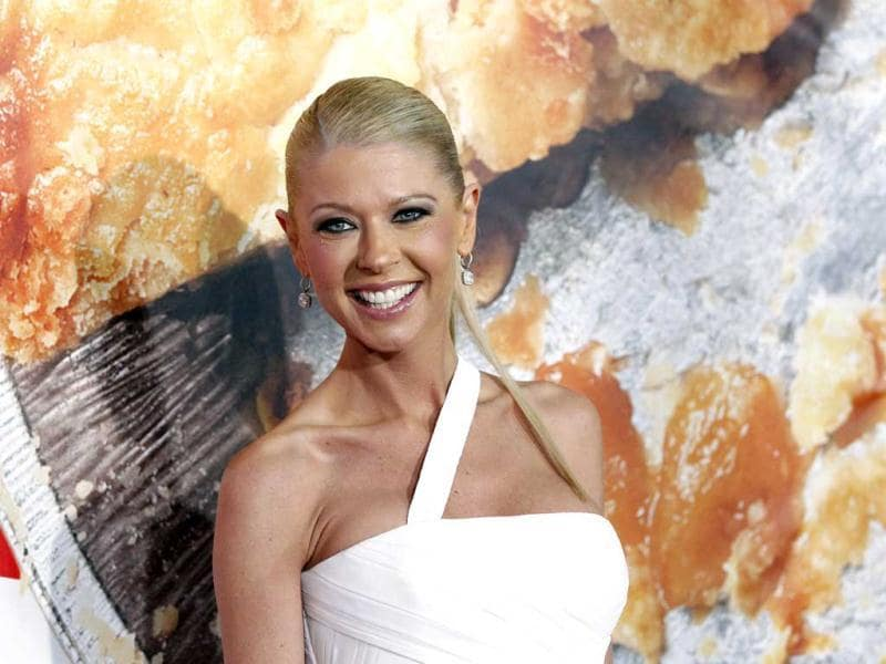 Tara Reid poses at the premiere. (Reuters Photo)
