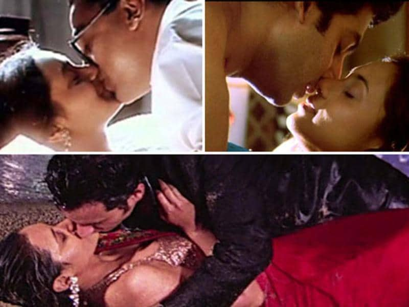 Right from the start of her career, Rani Mukerji had no apprehensions about bold scenes. Here's a look at the star's hottest onscreen moments.