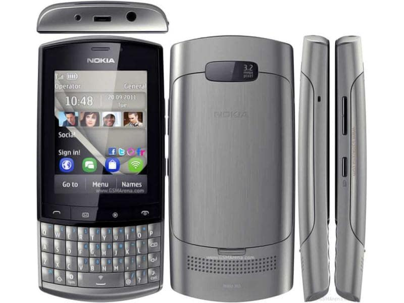 Nokia Asha 303 is based on S40 operating system, comes with touch and type input and a speedy 1 GHz processor. It is equipped with a 2.6-inch capacitive touchscreen display with 240 x 320 pixel resolution and a proximity sensor.