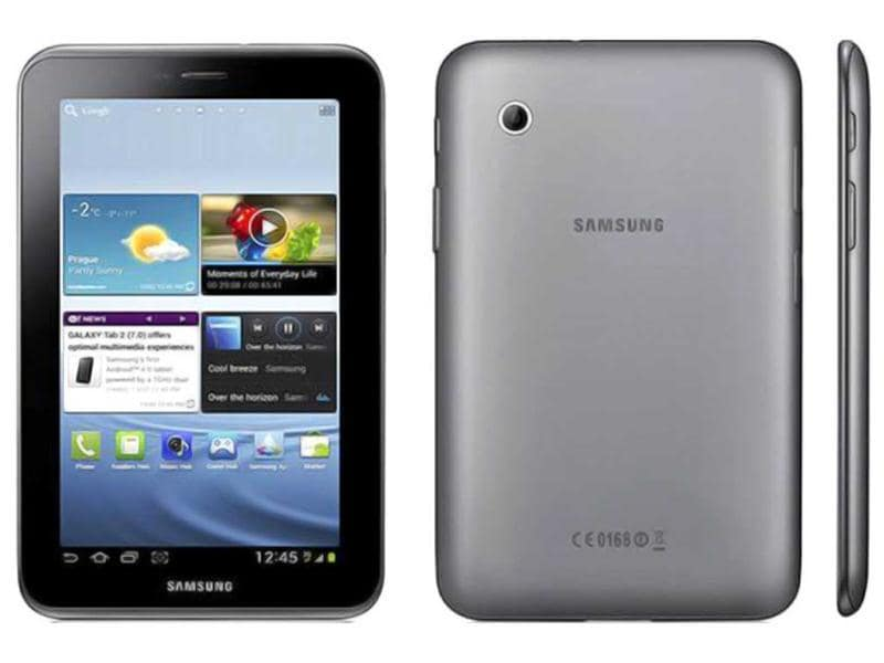Samsung Galaxy Tab 2 310 is Samsung's first Android 4.0 powered Tablet which included Google Play, a hub of close to 450,000 applications. The device's new operating system is further enhanced by HSPA+ 21Mbps and Wi-Fi connectivity.