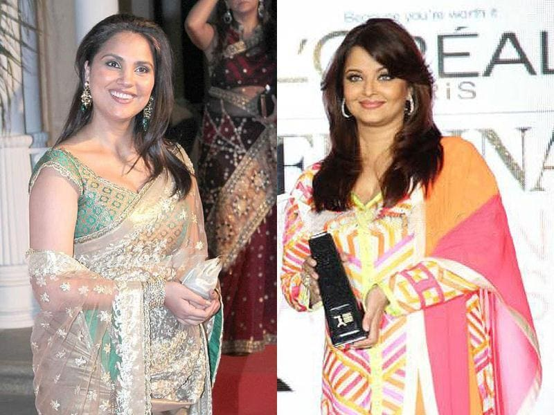 Aishwarya Rai and Lara Dutta might have gained weight after becoming moms, but they look gorgeous nevertheless. Here's a look at the divas and other celebs at Loreal Paris Femina Awards.