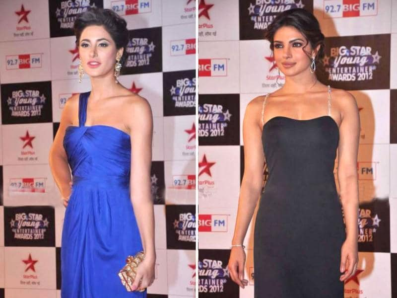 Nargis Fakhri, Priyanka Chopra, Rekha and many others graced the Big star young entertainer awards recently. Here's a look at the celebs.