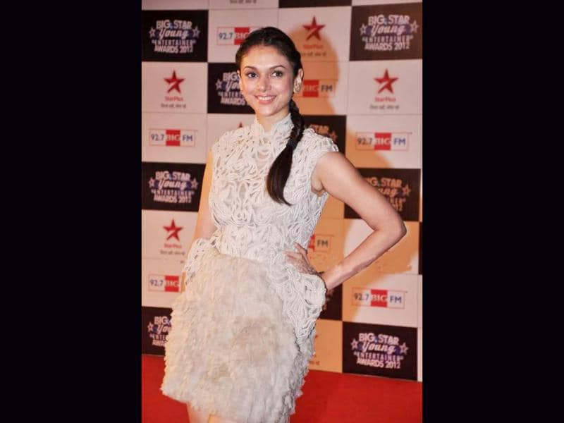 Aditi Rao Hydari at the awards function.