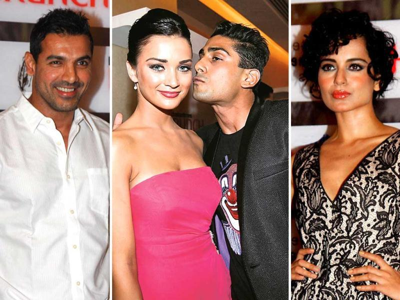 From Prateik Babbar kissing Amy Jackson to John Abraham and Kangna Ranaut expressing their views, catch all the action from the Brunch Dialogues summit at Mumbai.