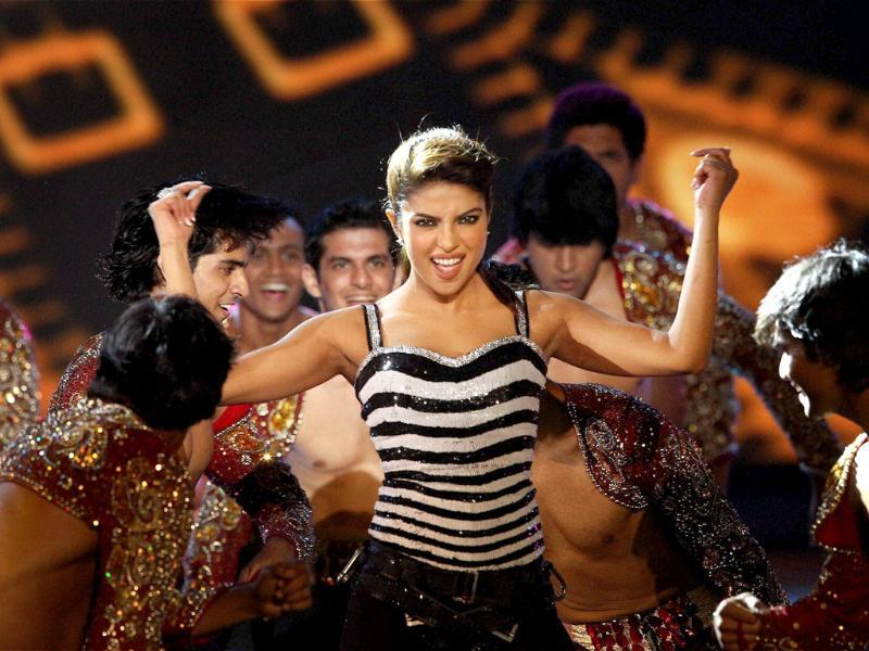 Priyanka Chopra performs during the opening ceremony of the 5th edition of Indian Premier League in Chennai. PTI Photo/IPL/SPORTZPICS