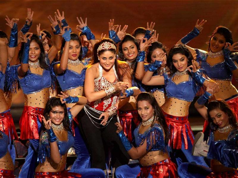 Kareena Kapoor performs during the opening ceremony of the 5th edition of Indian Premier League in Chennai on Tuesday evening. PTI Photo