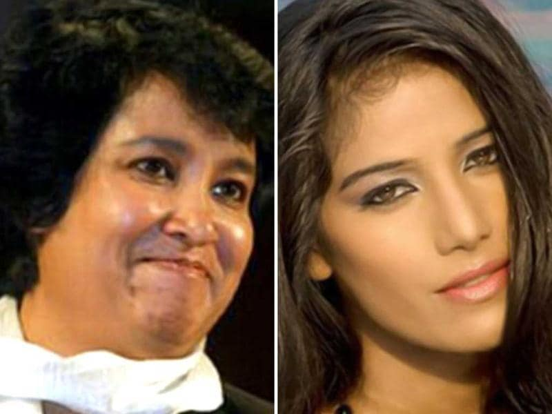 "Taslima Nasreen and Poonam Pandey also got involved in the war of words when Taslima reacted to Poonam Pandey's tweet saying :""Poonam Pandey got naked but not satisfied. She wanna do dirtiest things none did before. Wants to get f****d in public!(sic)"""