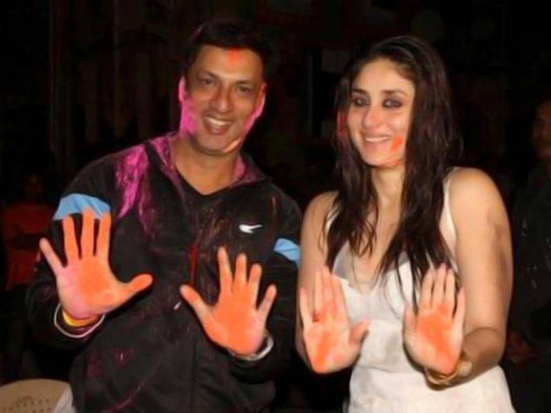 Kareena Kapoor poses with her Heroine director Madhur Bhandarkar but is this how a 'heroine' is supposed to look!