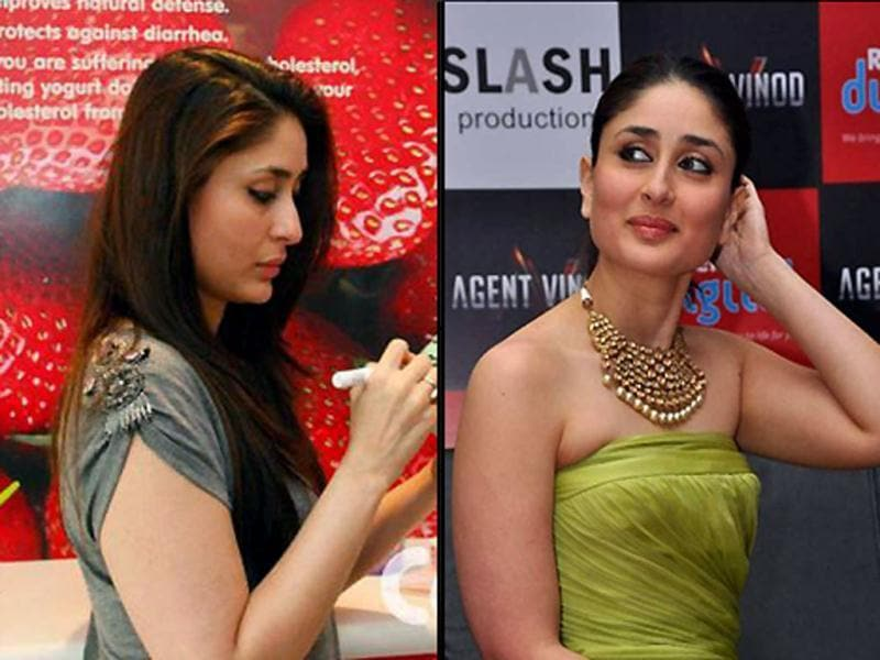 Post her size zero stint, Kareena Kapoor is back to her earlier plump avatar. Check out her appearances in the last two months.
