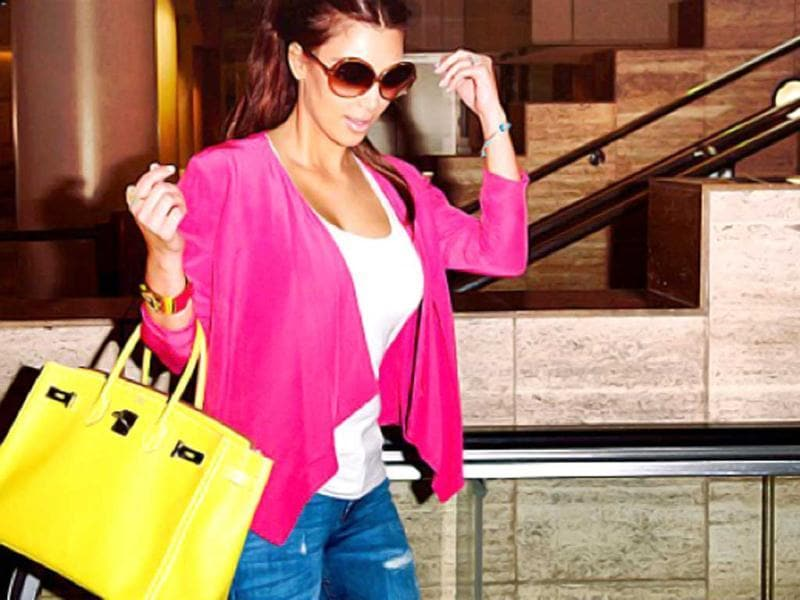 "In bright hues: ""Love Fun spring colors all mixed together!"""