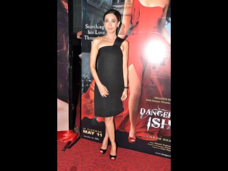 Karisma Kapoor at first look launch of Dangerous Ishhq.