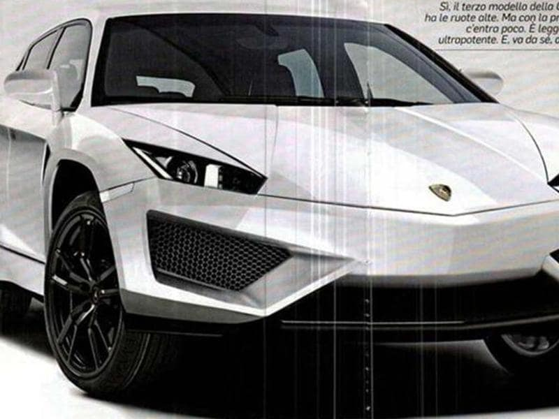 Lamborghini is close to revealing a dramatically styled and luxuriously equipped SUV concept.