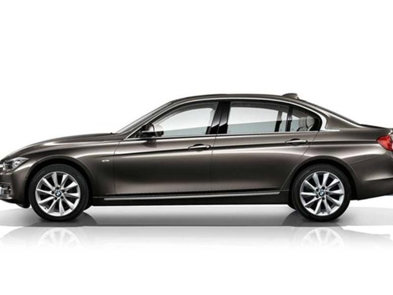 BMW will unveil the China-only long-wheel-base variant of the F30 3-series saloon.