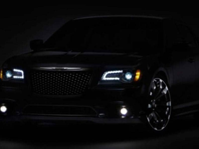 Chrysler will showcase a concept based on its popular 300 saloon.