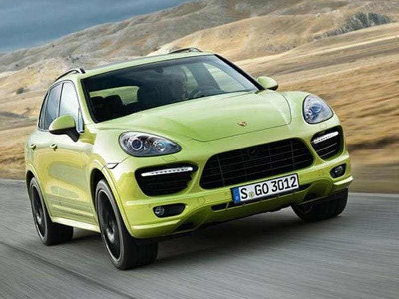 Porsche will unveil a new version of the Cayenne GTS, complete with sporty chassis and tuned V8.