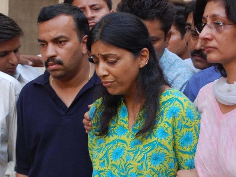 On February 09, 2011, Special CBI court summons Rajesh and Nupur Talwar as accused in Aarushi-Hemraj murder case after taking cognisance of the agency's closure report. (HT photos)