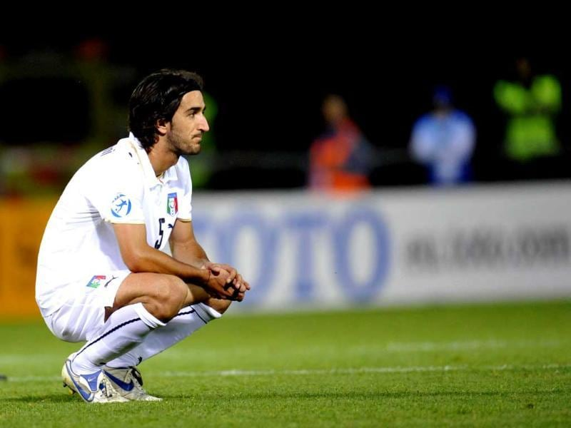 A file picture of Italian player Piermario Morosini, who died after collapsing at the pitch during a match. AFP Photo/Scanpix Sweden/Pontus Lundahl