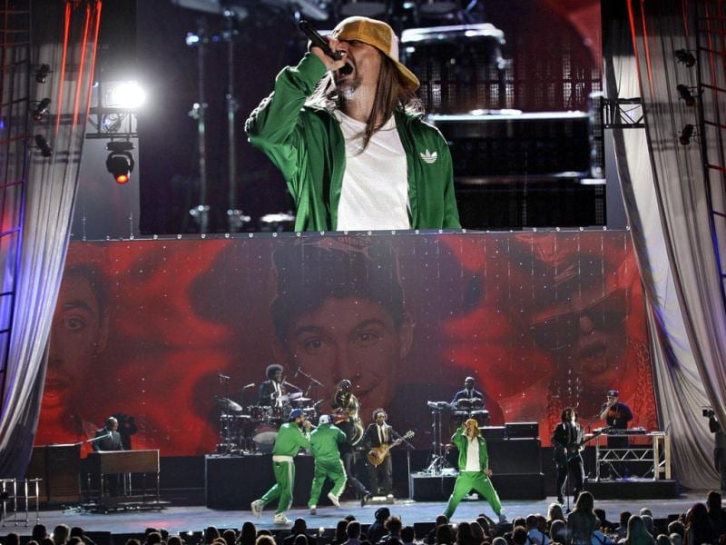 Kid Rock performs with