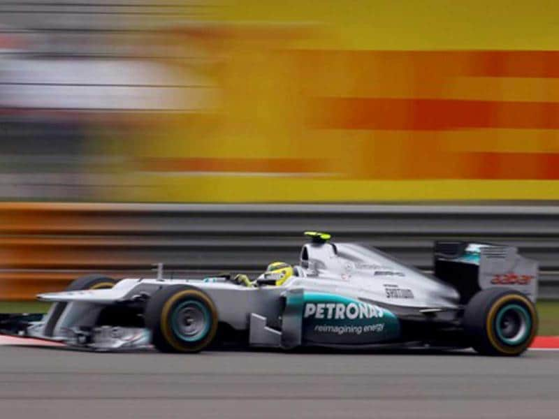 Nico Rosberg's first win was the first win for Mercedes as a team since the 1955 season. Reuters Photo