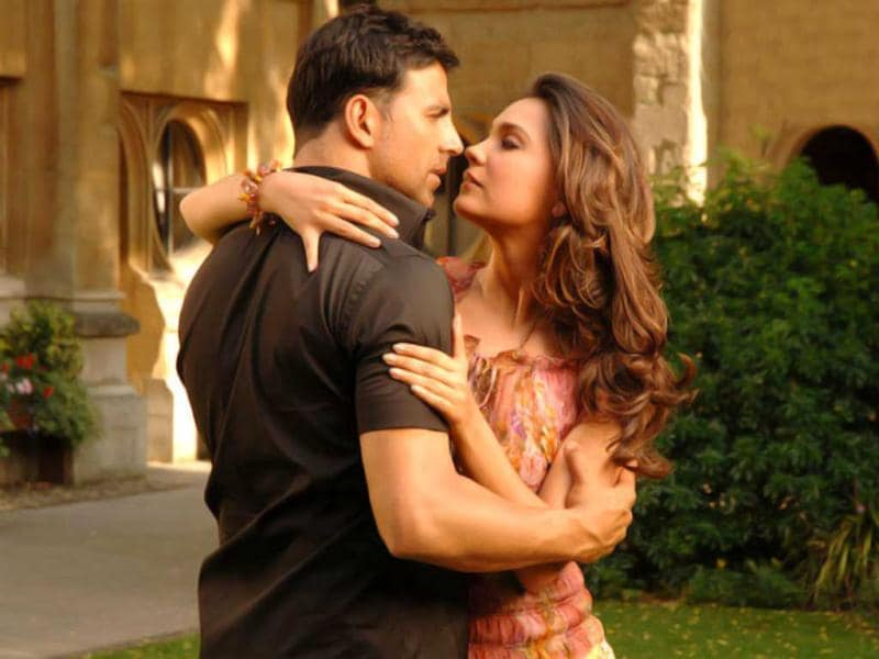 Lara Dutta has shared screen space with Akshay Kumar in films like Andaaz, Bhaagam Bhag, Housefull and Blue.