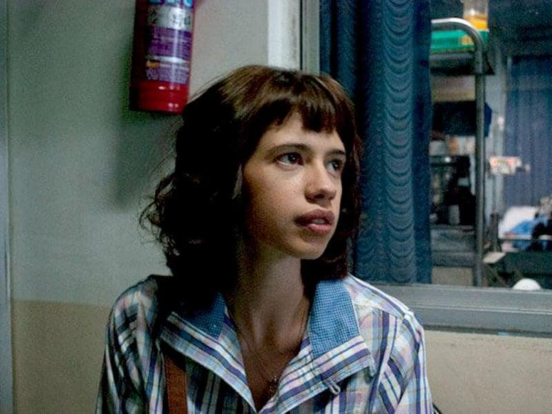 Kalki Koechlin plays Shalini, an earnest and innocent student-political activist who wants to change the world.