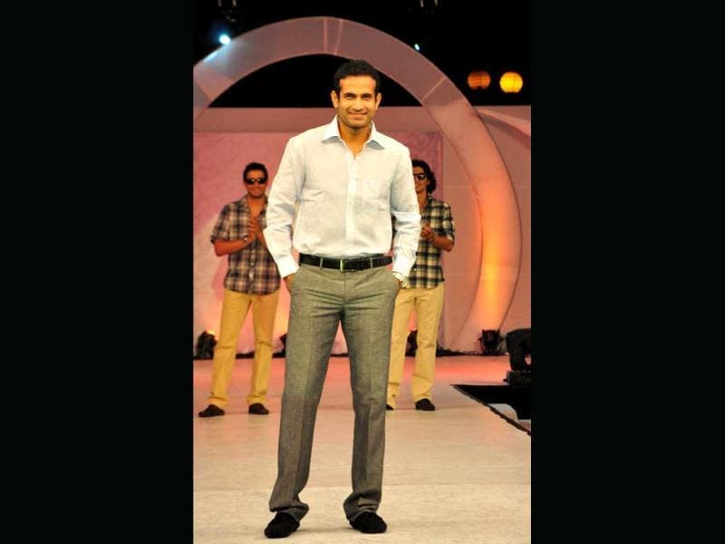 Irfan Pathan, who is a brand ambassador of men's clothing brand, Mushky was in the Capital for the brand's launch.