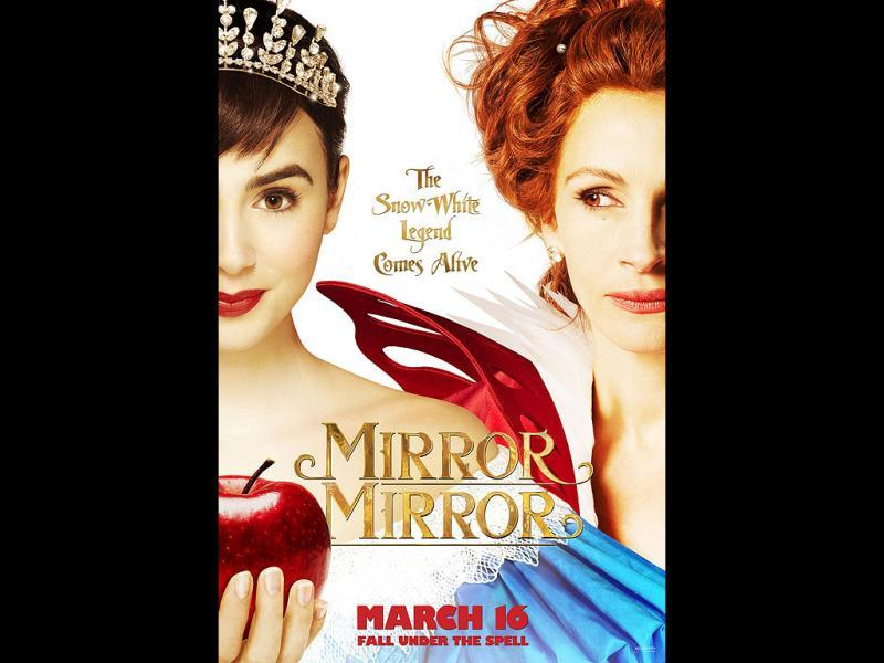 The film Mirror Mirror is a comic reprise of the Snow White and the seven dwarfs legend.