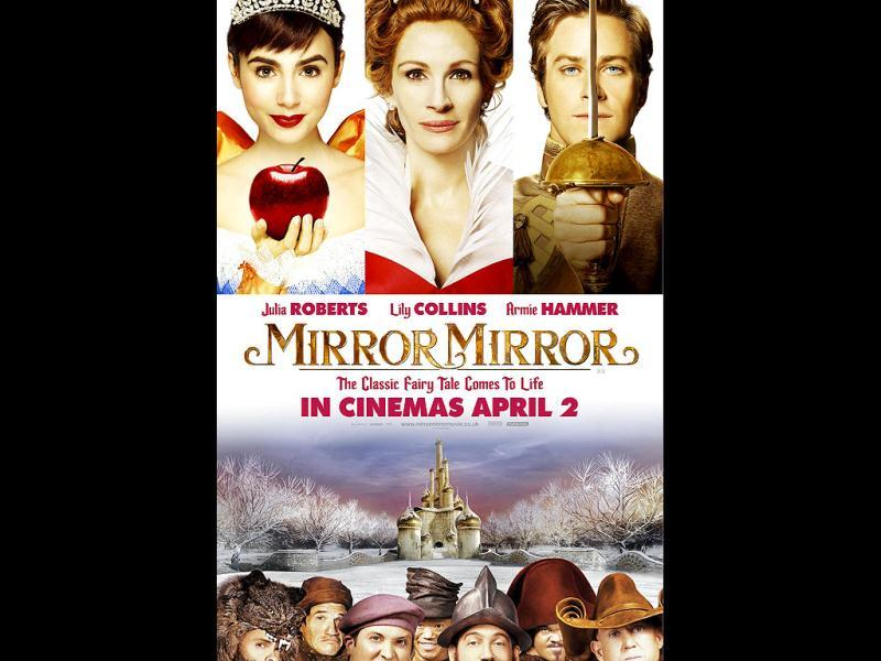 The Snow White legend inspired comedy Mirror Mirror starring Julia Roberts and Lily Collins releases today. As we take you through the stills, let's wait and watch how the film fares at the box office.