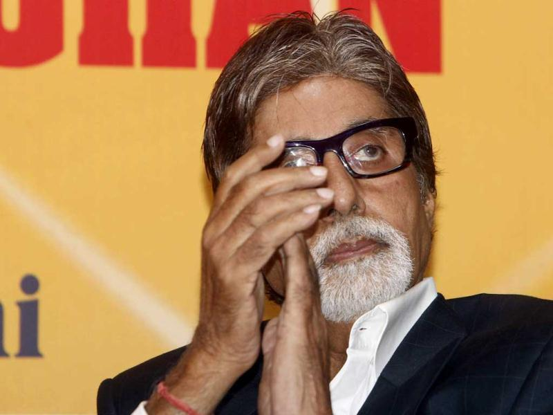 Big B will next be seen in Ram Gopal Varma's Department.