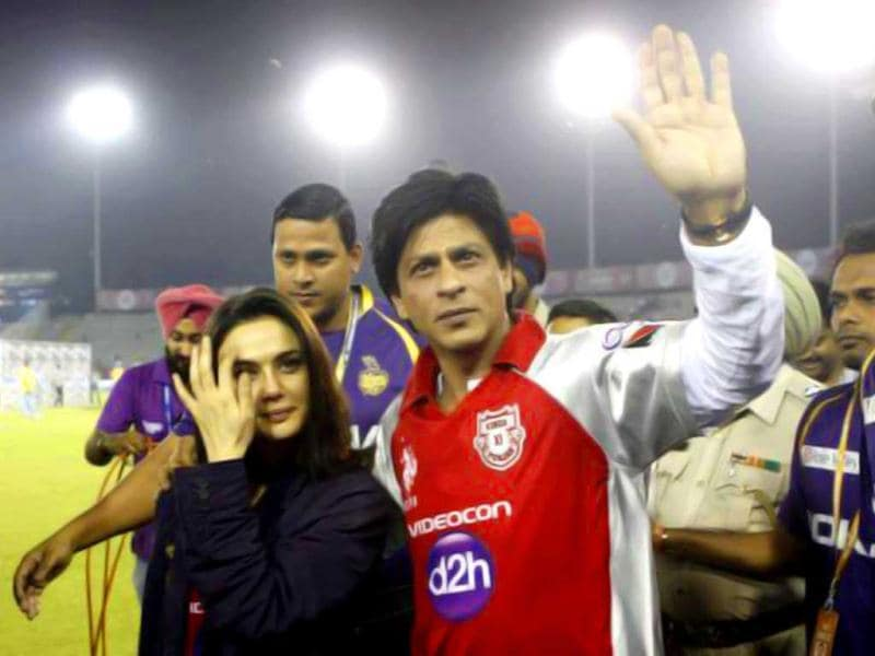 While SRK owns Kolkata Knight Riders, Preity Zinta is the owner of King XI Punjab.