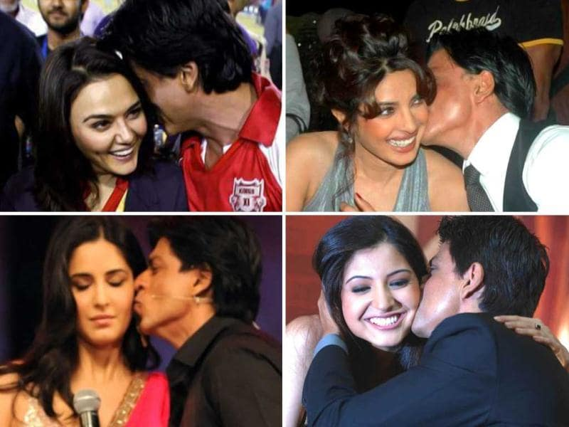 Has Shah Rukh Khan always been the ladies man or is it a persona he has embraced lately? We looked at various snapshots in recent past where the erstwhile reserved Khan has become quite expressive. Check out King Khan's truly 'touchy' moments.