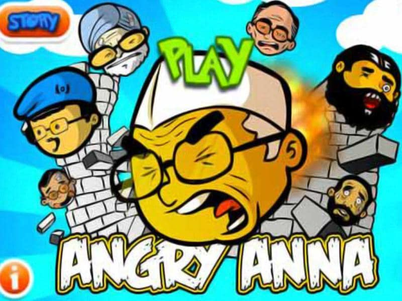 Angry Anna: Hate politicians? Now here's your chance to vent all your frustration against them online! In Angry Anna, you lob activist Anna Hazare, Baba Ramdev and Kiran Bedi heads at P. Chidambaram and Prime Minister Manmohan Singh (among others). Get cracking at www.angryanna.in