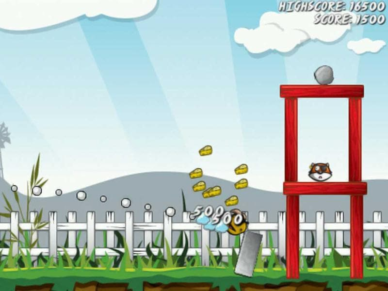 Angry Farm: Miss having Angry Birds on your BlackBerry smartphone? Worry not, you can just get Angry Farm! Help the angry animals clear the farm of marauding foxes who are hiding inside protective farm structures that are made up of wood (what else?). Beat Angry Birds on Android? YOu can get Angry Farm there too.