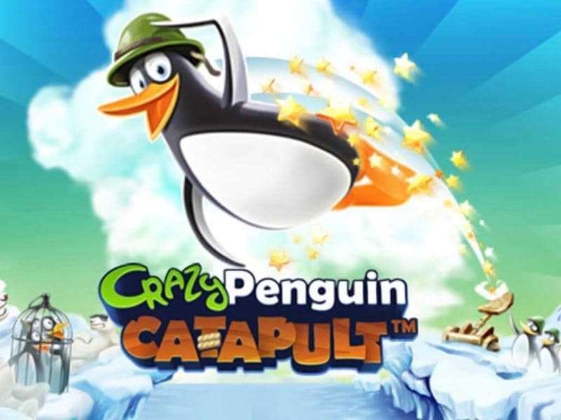 Crazy Penguin Catapult: Replace the cutesy birds with not-so-cutesy penguins and sniggerin pigs with boxing polar bears and what you get is Crazy Penguin Catapult. You can play it free online.Really, who comes up with these things?