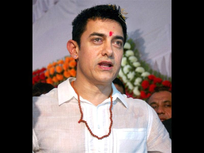 Aamir is currently wrapping up the final episodes of his TV show, Satyamev Jayate, after which he will start shooting for Dhoom 3.
