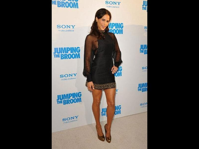 American actor Paula Patton was voted the eighth most beautiful.