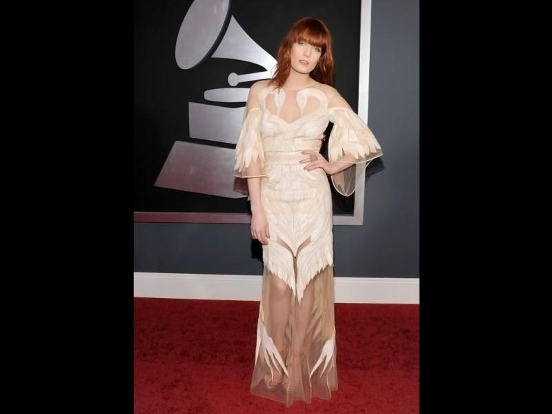 Florence Welch, the lead singer of the English indie pop band Florence and the Machine mesmerises with both her music and her fashion.