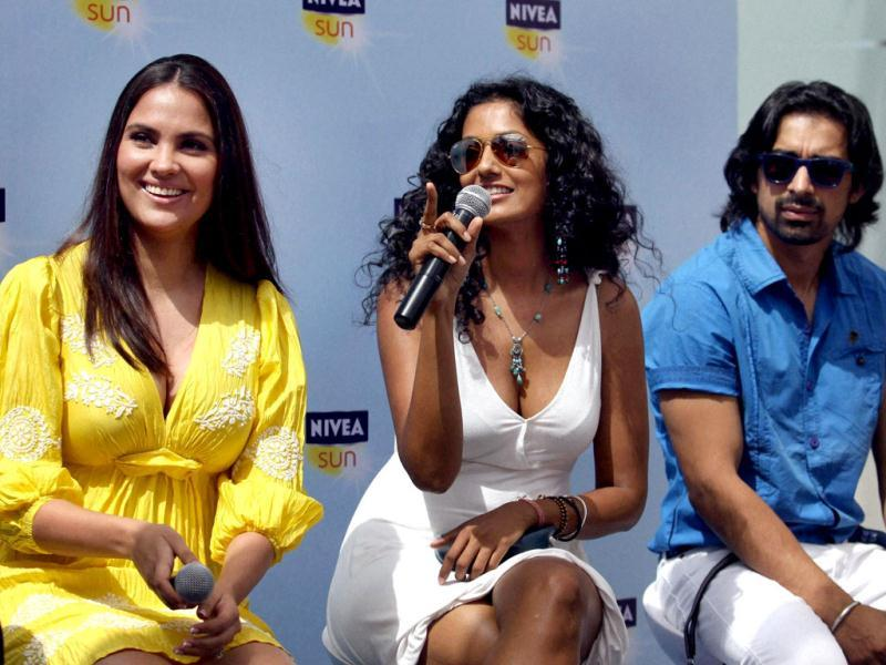 Lara Dutta tied the knot with Mahesh Bhupathi in a private ceremony on 16th February 2011 after dating him for over a year.