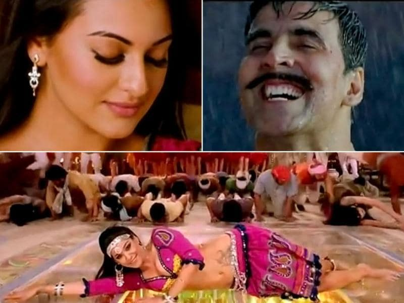 Akshay Kumar and Sonakshi Sinha's jodi is making waves in B-Town these days. Apart from doing Rowdy Rathore, they are starring in Joker and Once Upon A Time In Mumbaai 2 together.
